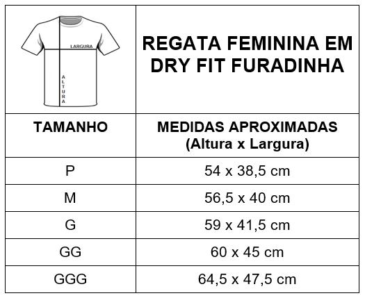 Regata Masculina de Dry Fit Furadinha 628a6f708ca